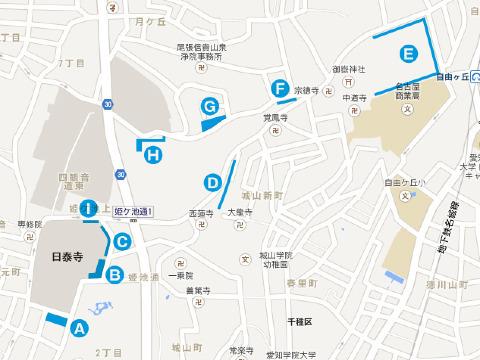 覚王山マップ